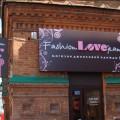 Вывеска для магазина «Fashion love jeans»