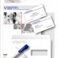 Center - разработка фирменного стиля Центра сердечно-сосудистой хирургии